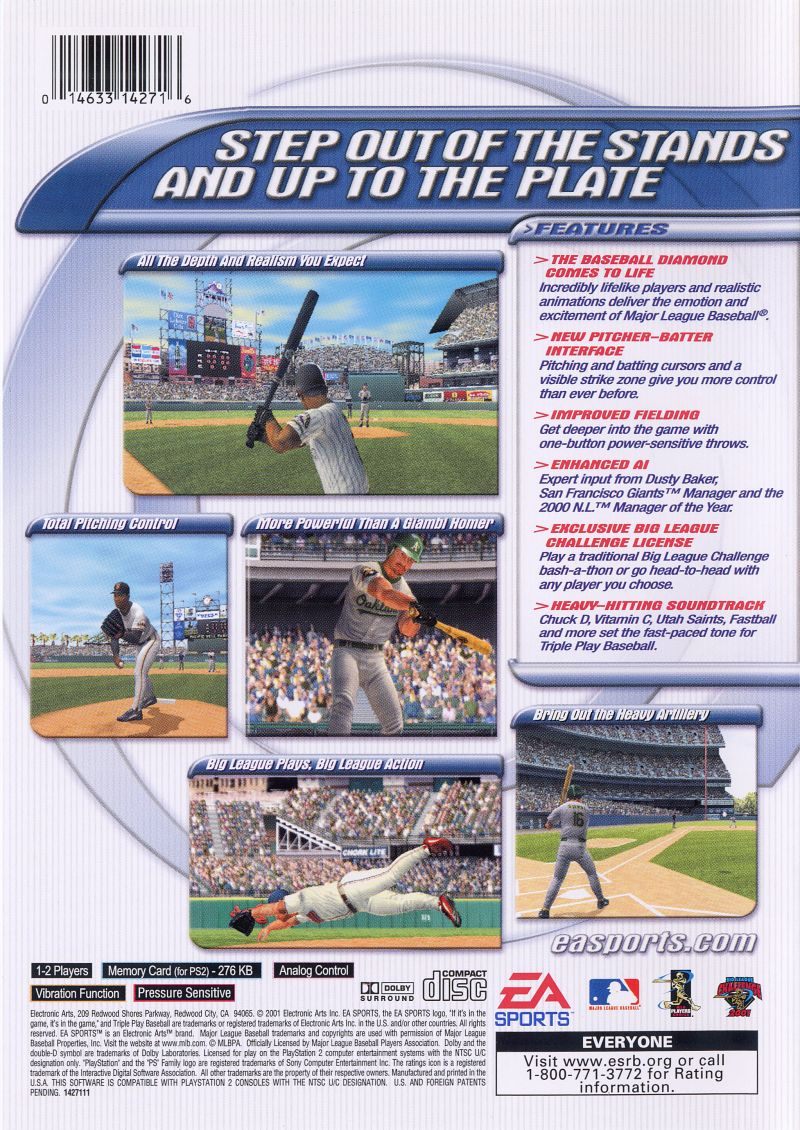 triple play baseball ps2