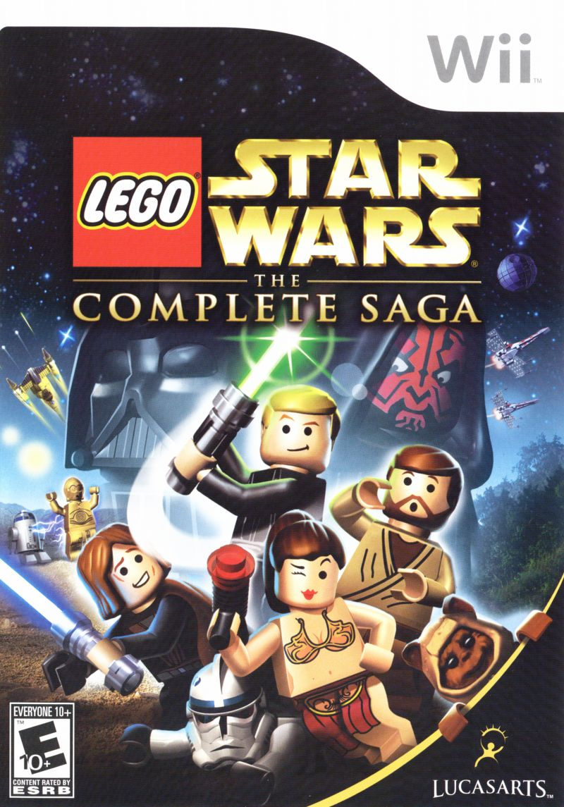 lego star wars the complete saga for wii 2007  mobygames
