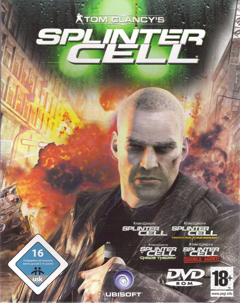 Tom Clancy's Splinter Cell Complete Windows Front Cover
