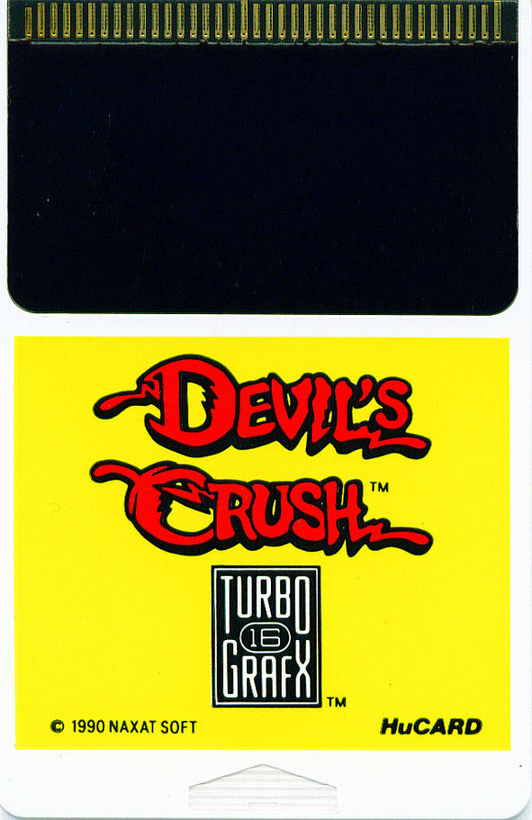 Devil's Crush TurboGrafx-16 Media