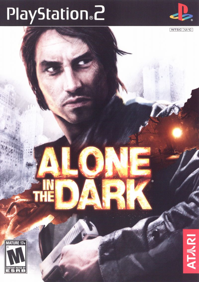 Alone in the Dark PlayStation 2 Front Cover