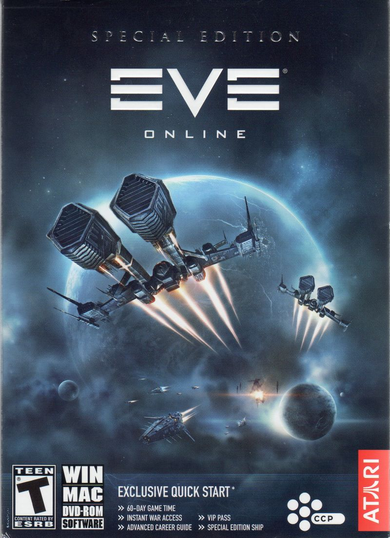 EVE Online (Special Edition) Macintosh Front Cover