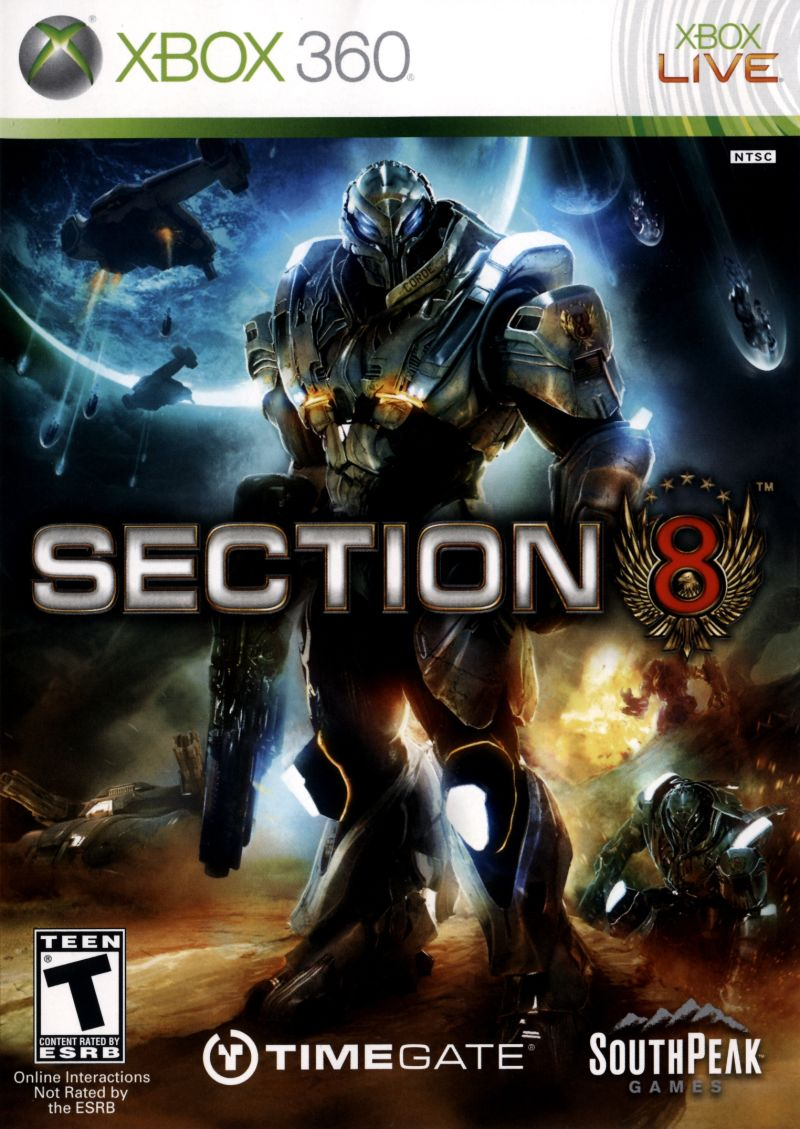 Section 8 for Xbox 360 (2009) - MobyGamesXbox 360 Game Covers