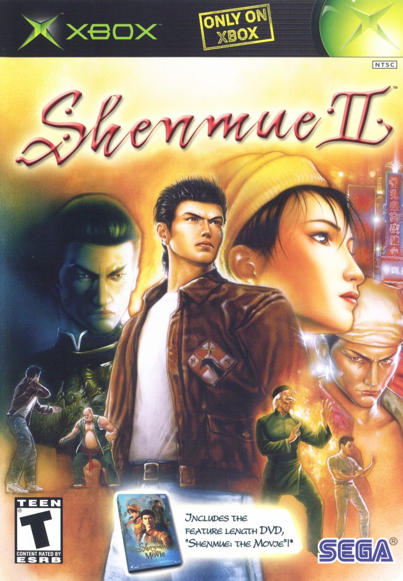 Shenmue II for Xbox 2002 Trivia MobyGames