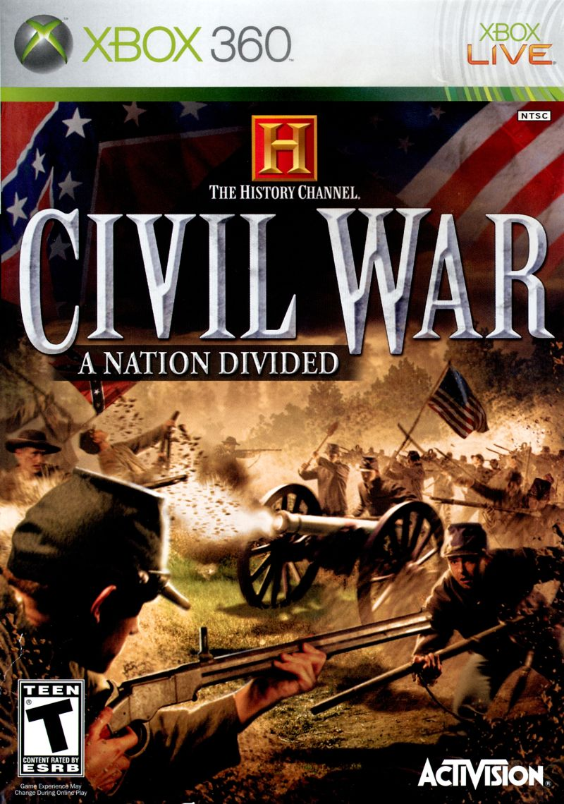 The History Channel Civil War A Nation Divided (2006