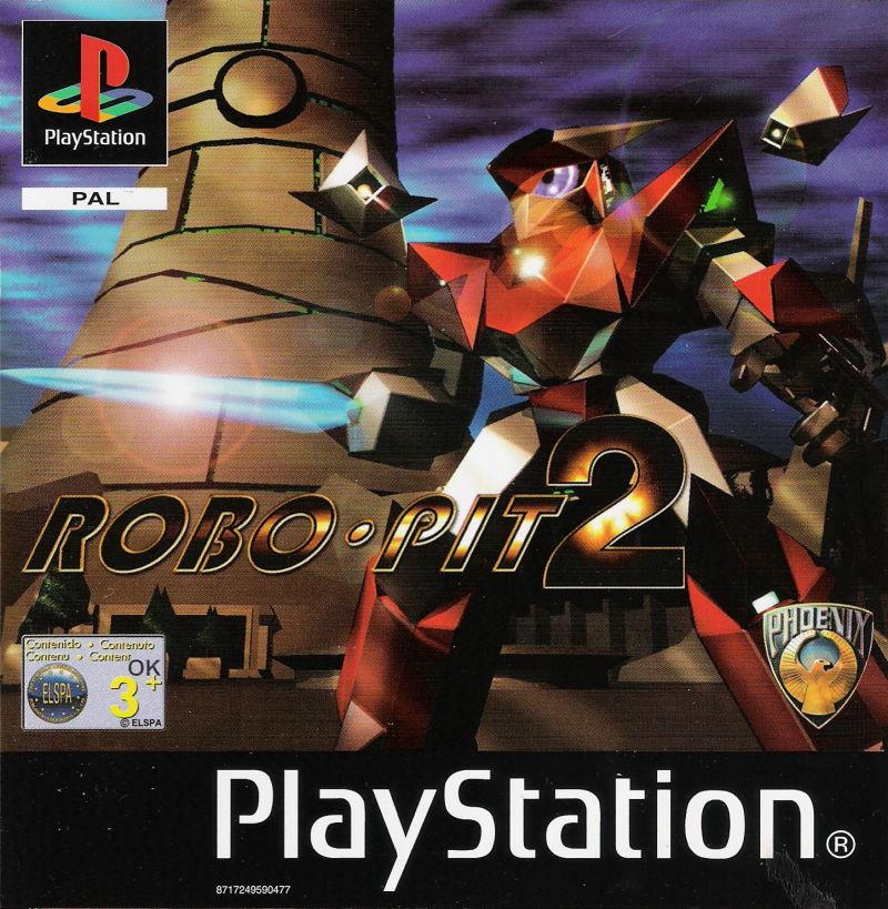 Robo-Pit 2 PlayStation Front Cover