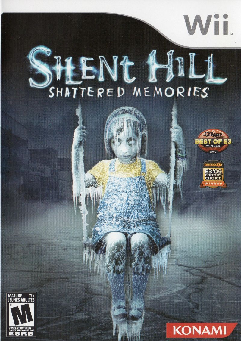 Silent Hill: Shattered Memories Wii Front Cover