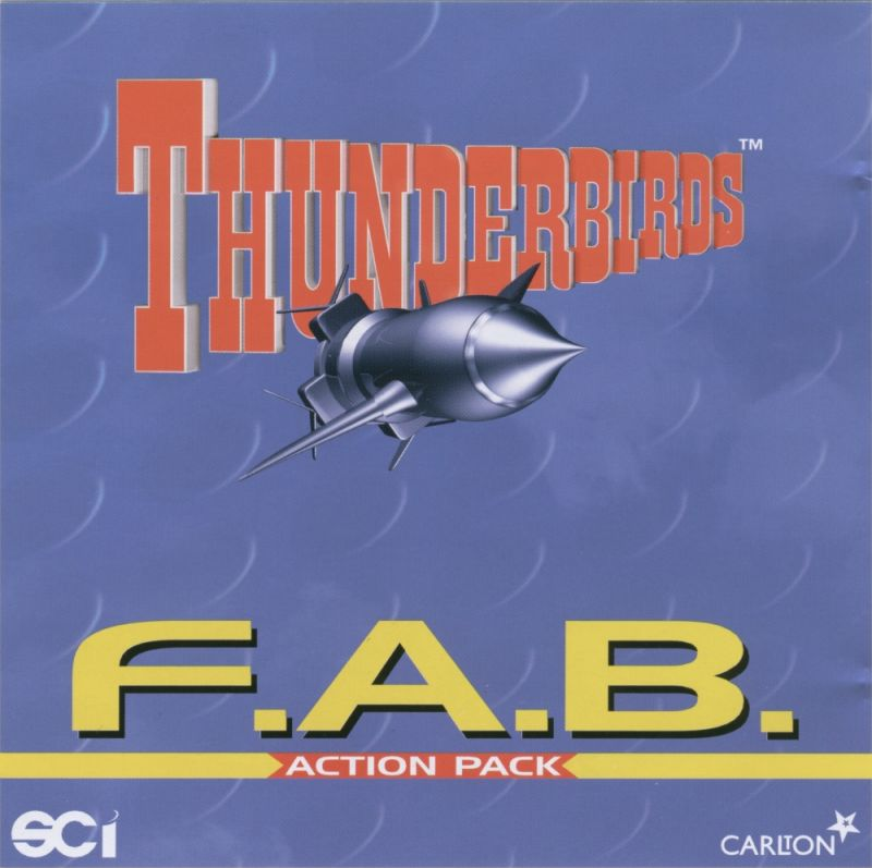 Thunderbirds: F.A.B. Action Pack Windows Other Jewel Case - Front