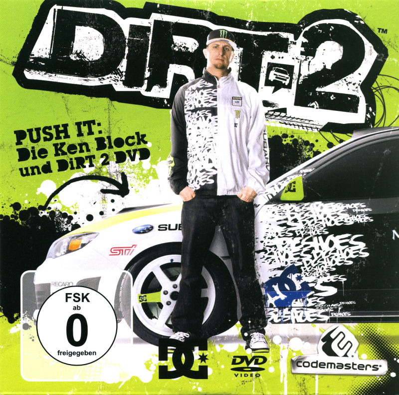 Colin McRae: DiRT 2 (Special Edition) Windows Other Bonus Disc - Sleeve - Front