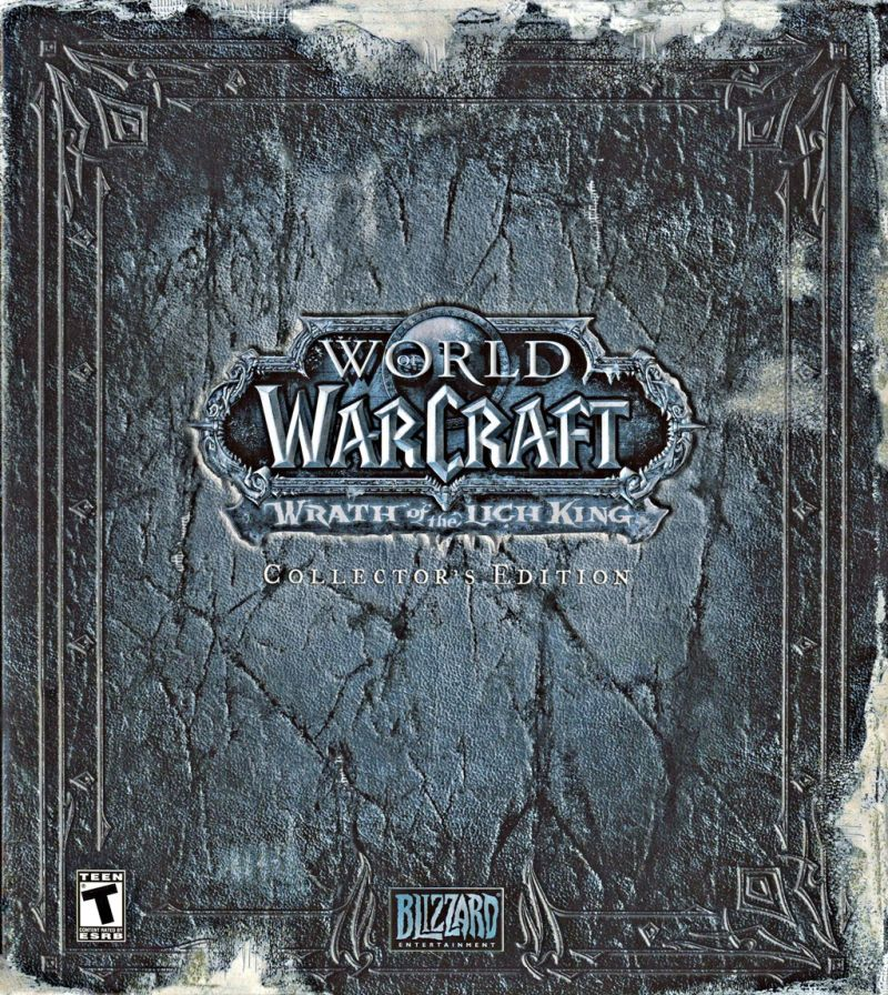 World of Warcraft: Wrath of the Lich King (Collector's Edition) Macintosh Front Cover