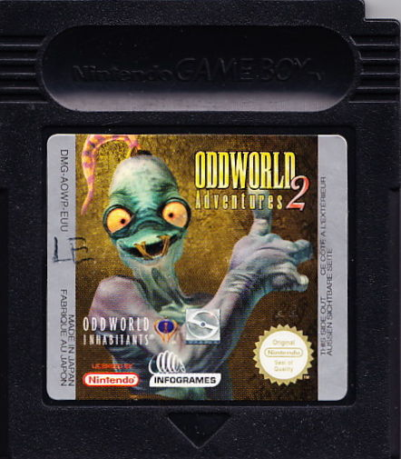 Oddworld Adventures 2 Game Boy Color Media