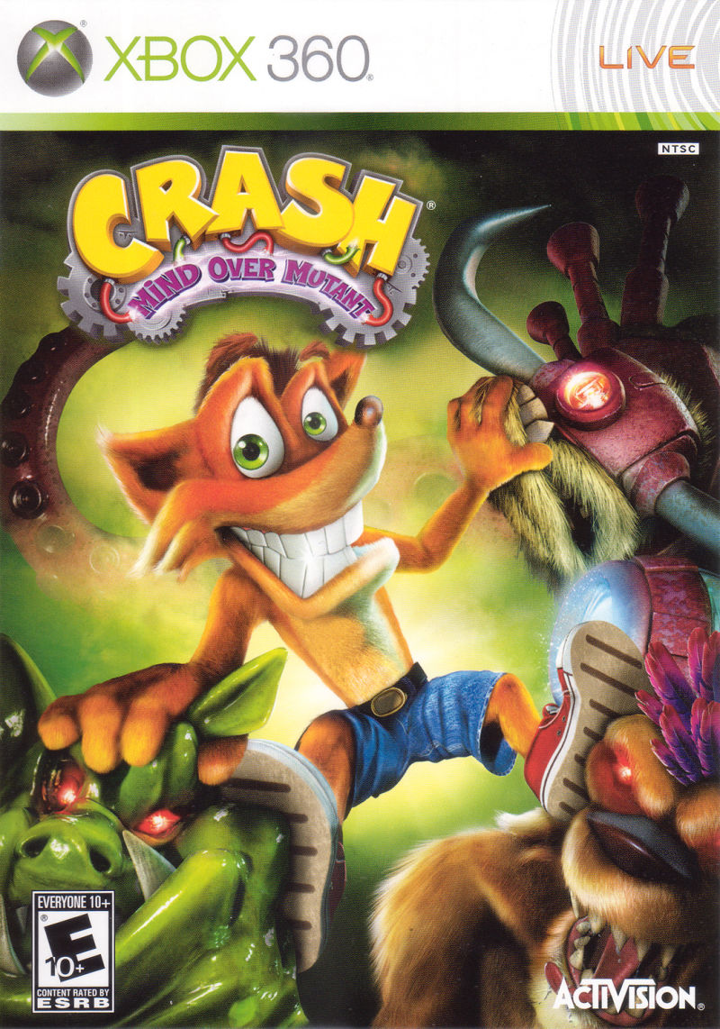 Crash Mind Over Mutant For Xbox 360 2008 Mobygames