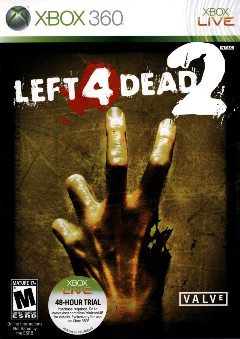Left 4 Dead 2 for Xbox 360 (2009) - MobyGames