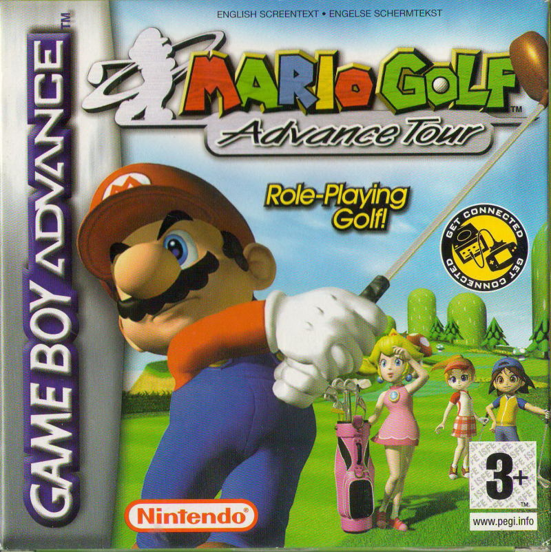 Mario Golf: Advance Tour Game Boy Advance Front Cover