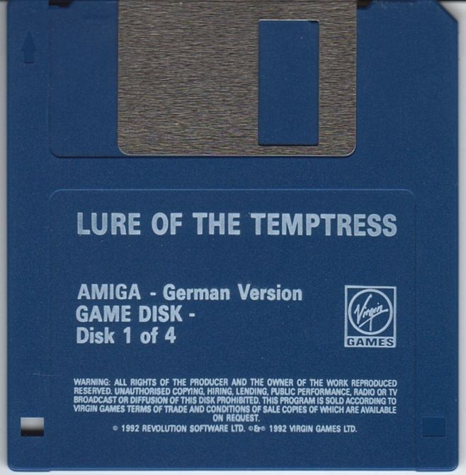 Lure of the Temptress Amiga Media Disk 1/4