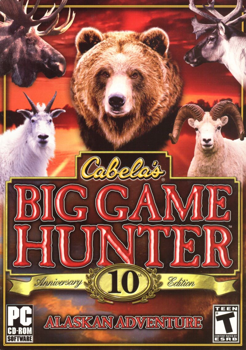 Cabela's Alaskan Adventures Windows Front Cover