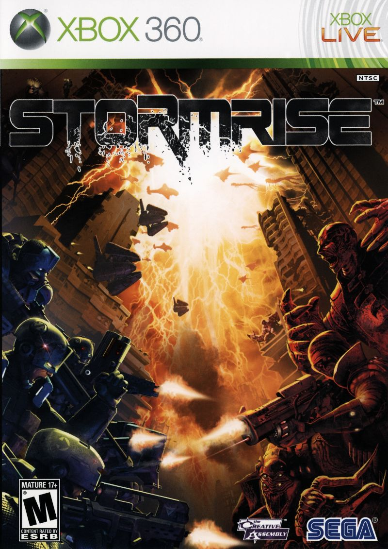 Stormrise Xbox 360 Front Cover