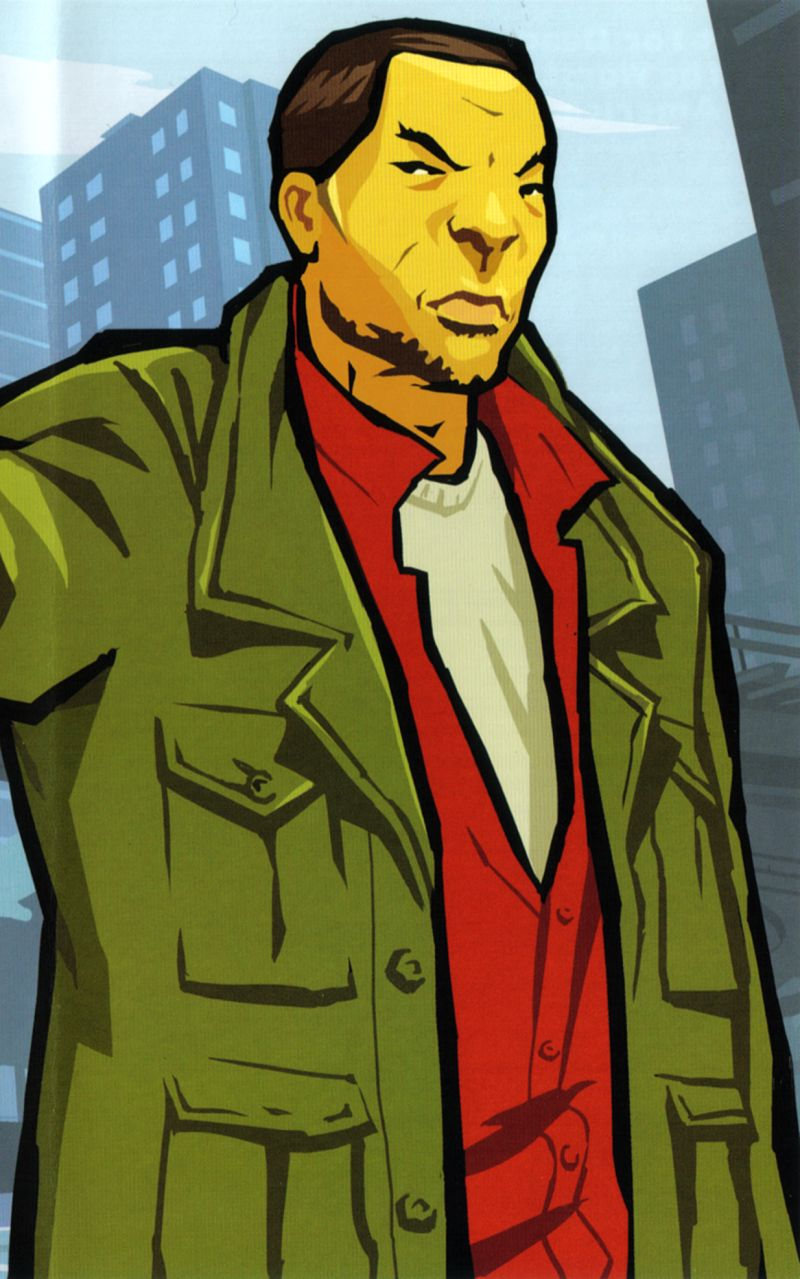 Grand Theft Auto: Chinatown Wars PSP Inside Cover Right