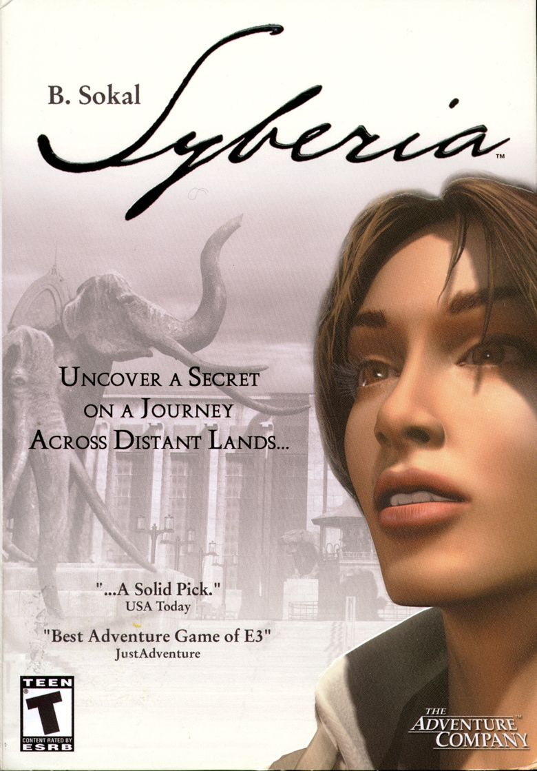 Syberia Windows Front Cover