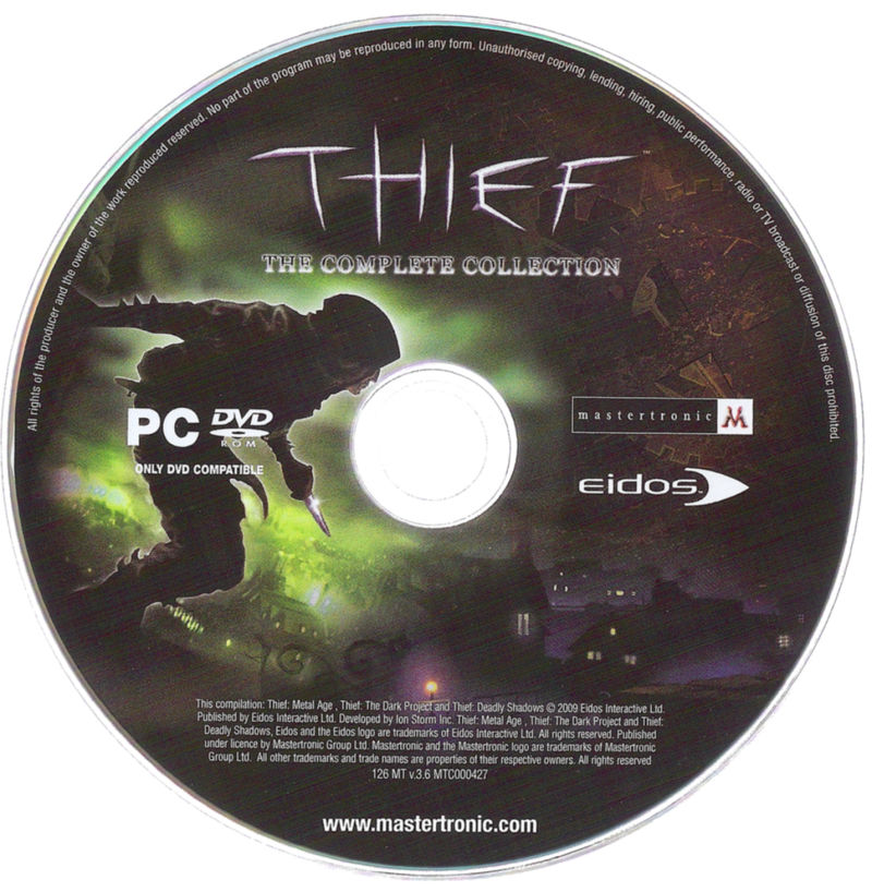 Thief: Antologia Windows Media