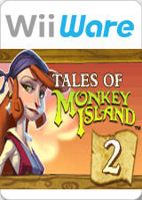 Tales of Monkey Island: Chapter 2 - The Siege of Spinner Cay Wii Front Cover