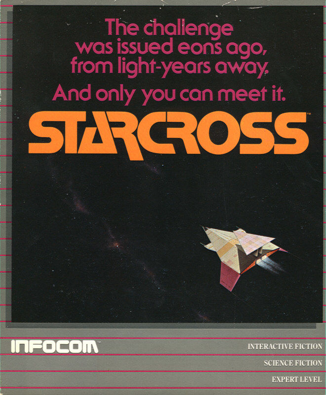 Starcross DOS Front Cover