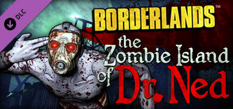 Borderlands: The Zombie Island of Dr. Ned Windows Front Cover