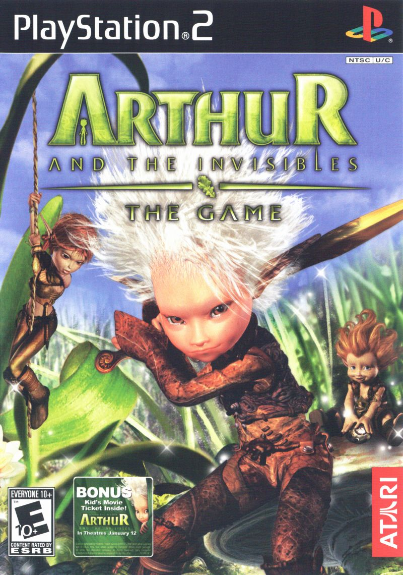 Arthur And The Invisibles The Game 2007 Mobygames