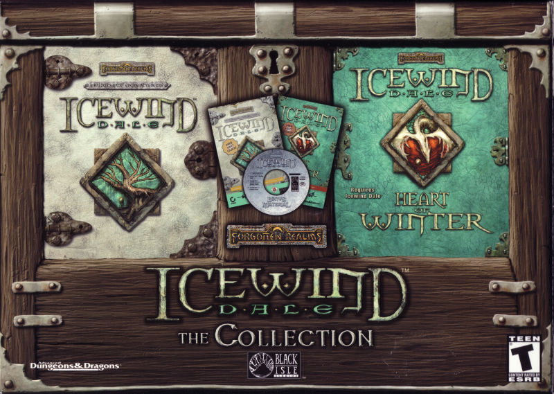 Icewind Dale: The Collection Windows Front Cover
