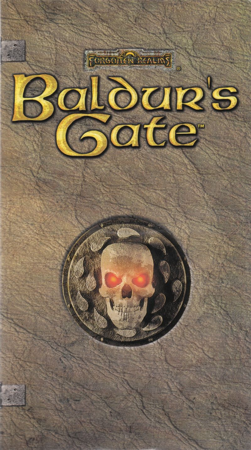 Baldur's Gate Windows Other CD Sleeve - Front