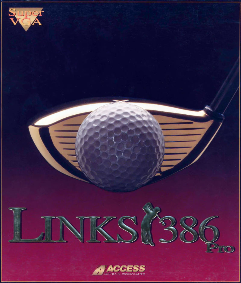 Links 386 Pro DOS Front Cover
