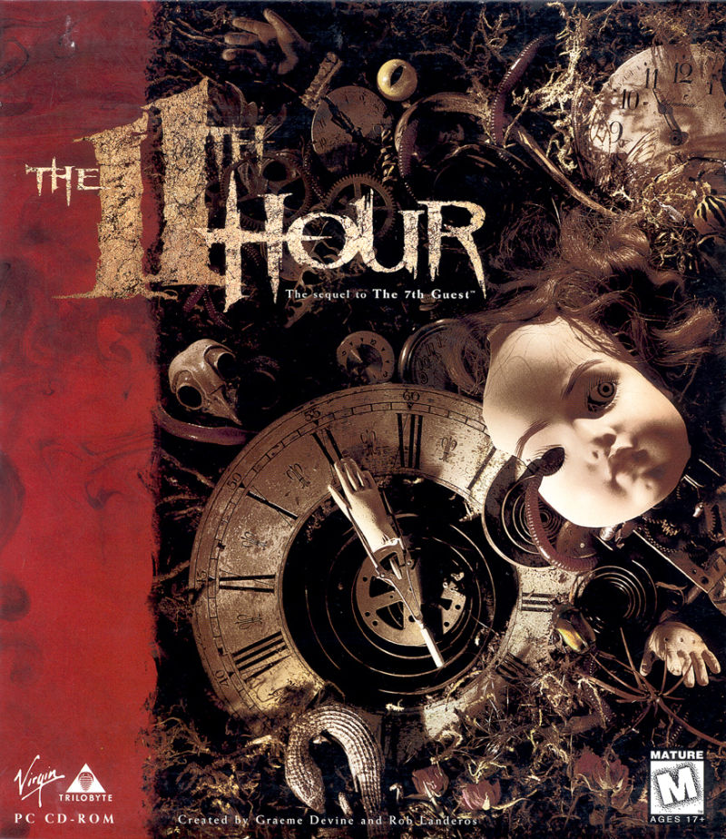 The 11th Hour DOS Front Cover