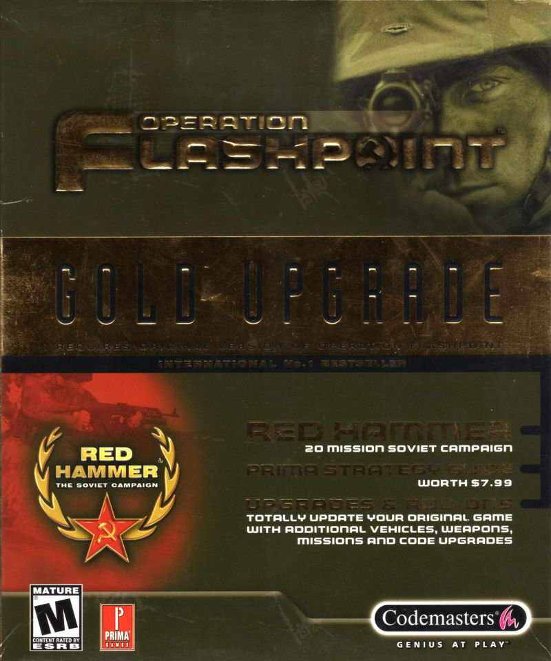 Operation Flashpoint: Gold Upgrade Windows Front Cover