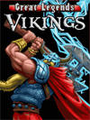 Great Legends: Vikings J2ME Front Cover