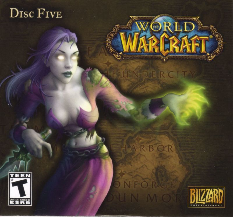 World of Warcraft Macintosh Other Paper Sleeve - Disc 5