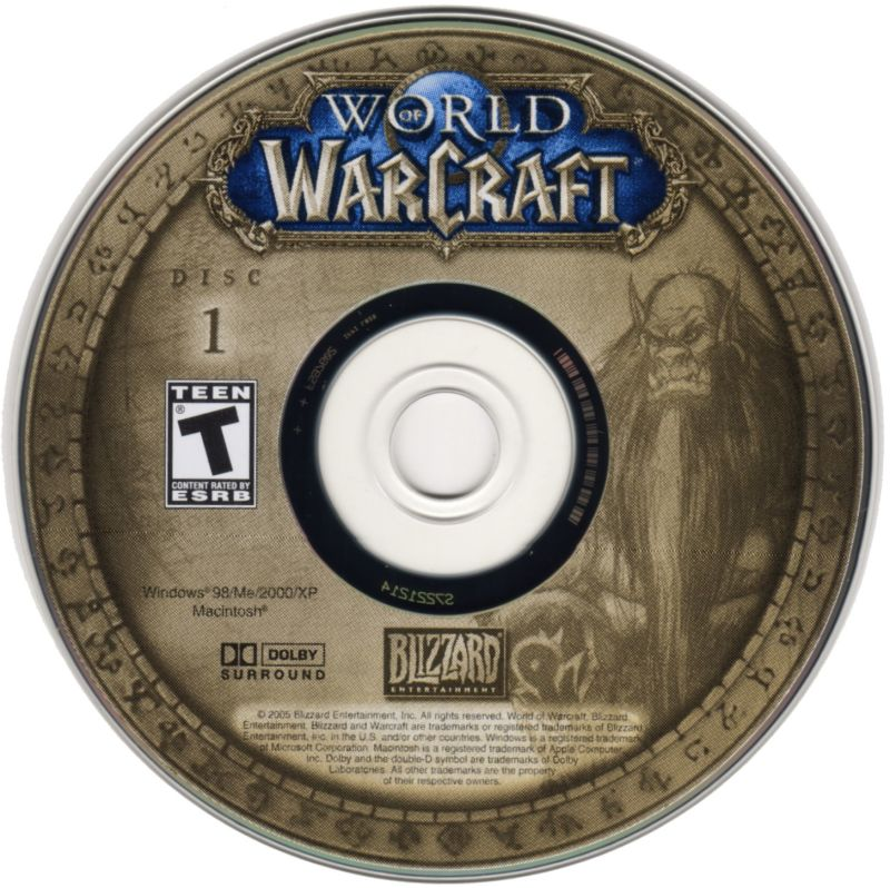 World of Warcraft Macintosh Media Disc 1