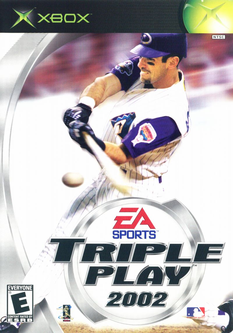 Triple Play 2002 Xbox Front Cover