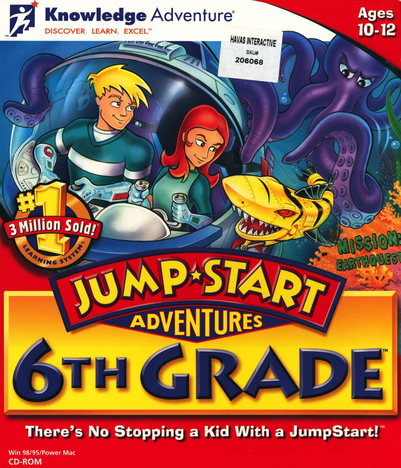 Jumpstart Adventures 6th Grade Mission Earthquest For