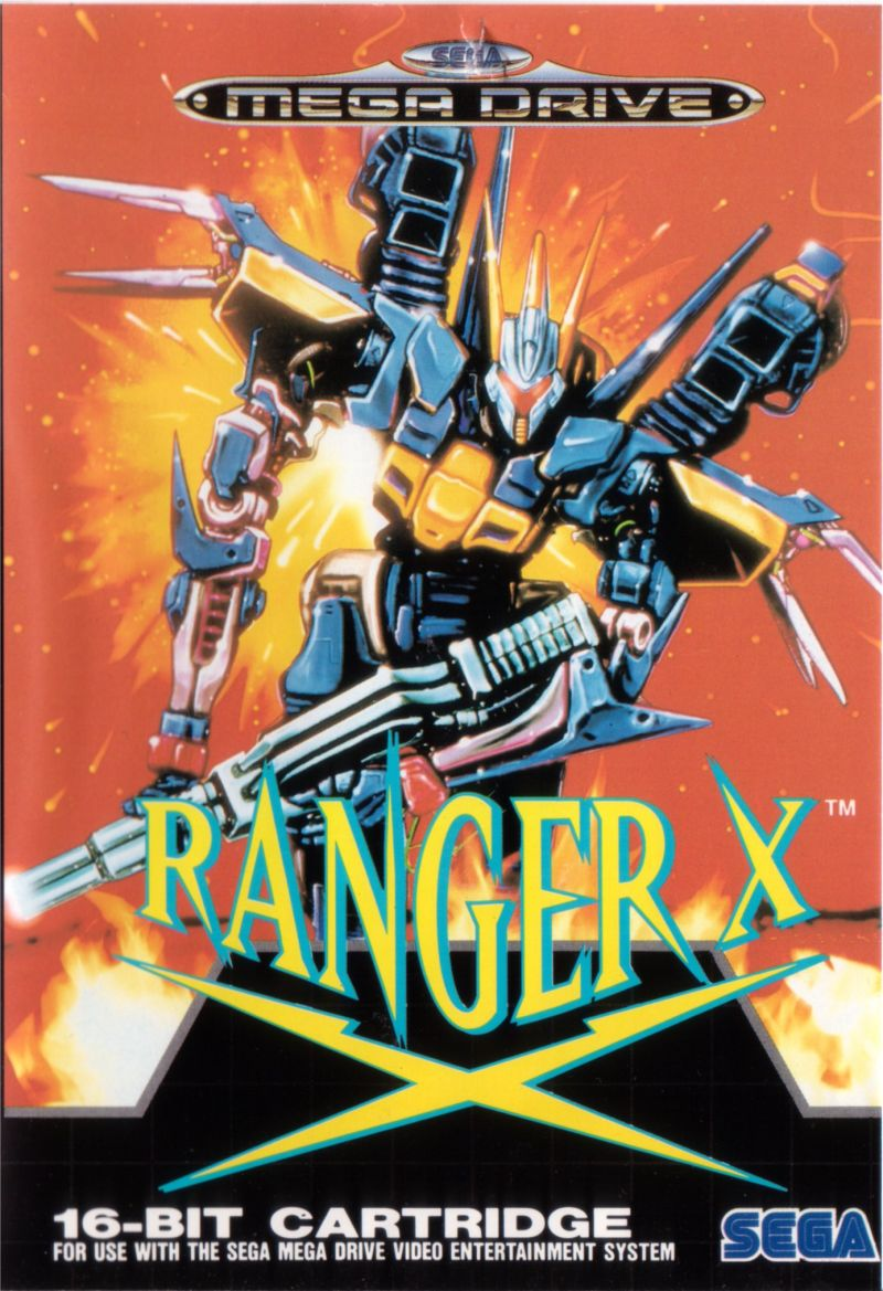 Ranger X Genesis Front Cover