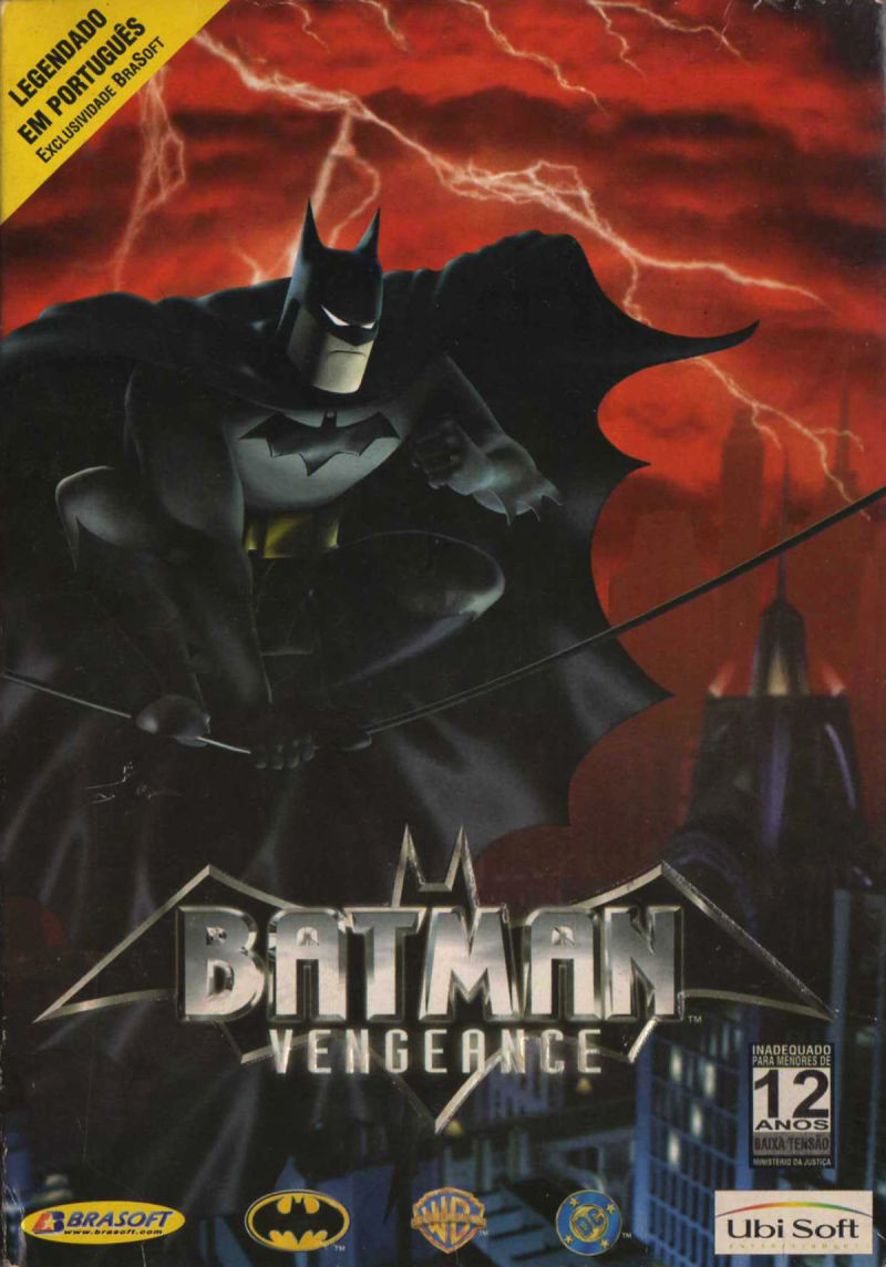 Batman: Vengeance Windows Front Cover