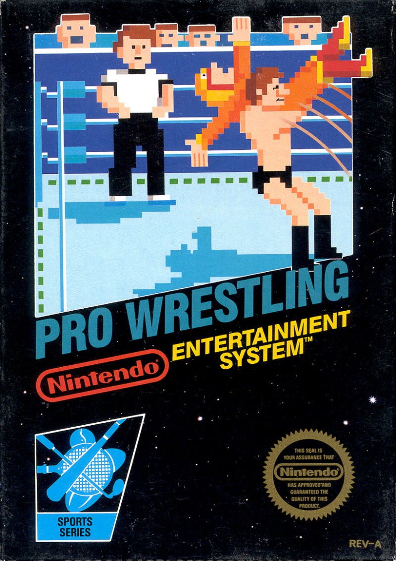 Pro Wrestling NES Front Cover