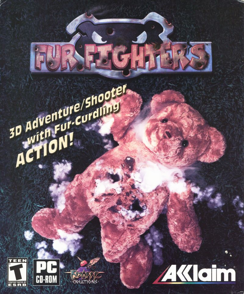 Fur Fighters Windows Front Cover