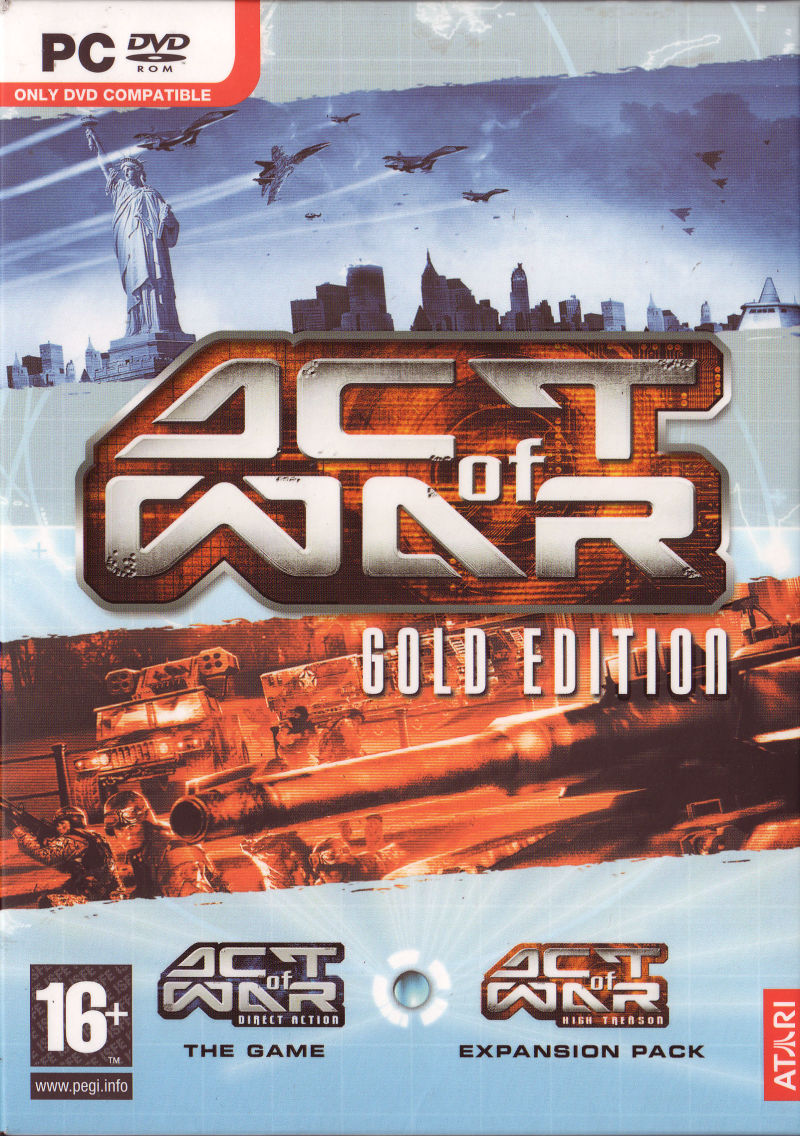 Act of War: Gold Edition Windows Front Cover