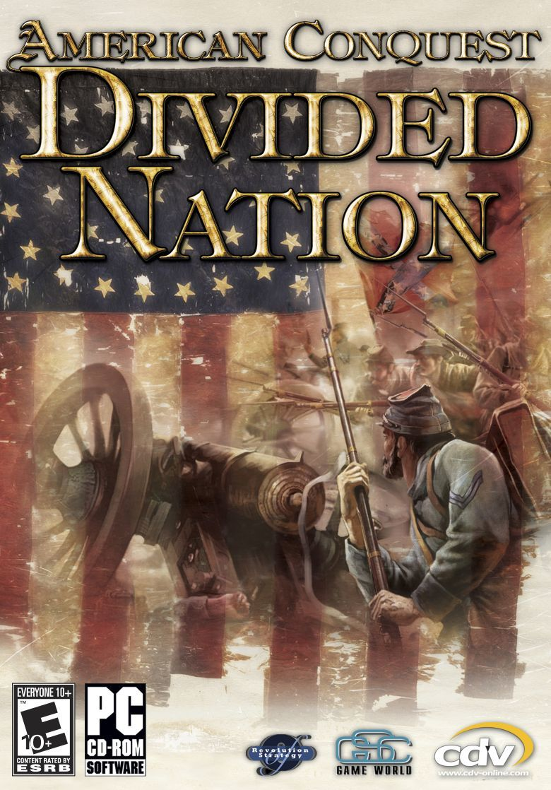 American Conquest: Divided Nation Windows Front Cover