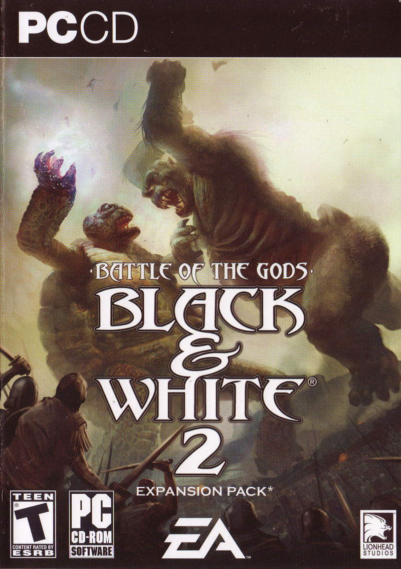 Black & White 2: Battle of the Gods Windows Front Cover