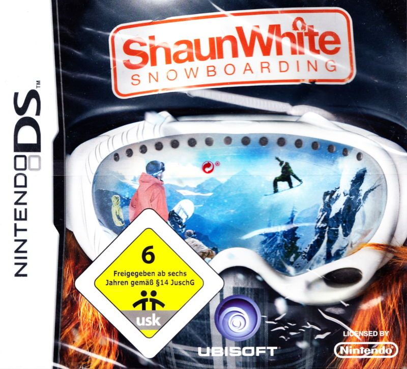 Shaun White Snowboarding Nintendo DS Front Cover