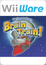 The Amazing Brain Train! Wii Front Cover