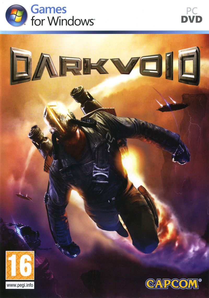 Dark Void Windows Front Cover