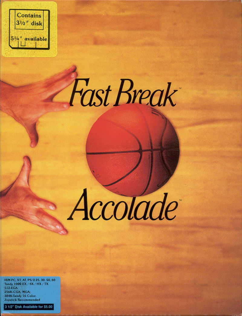 Fast Break DOS Front Cover