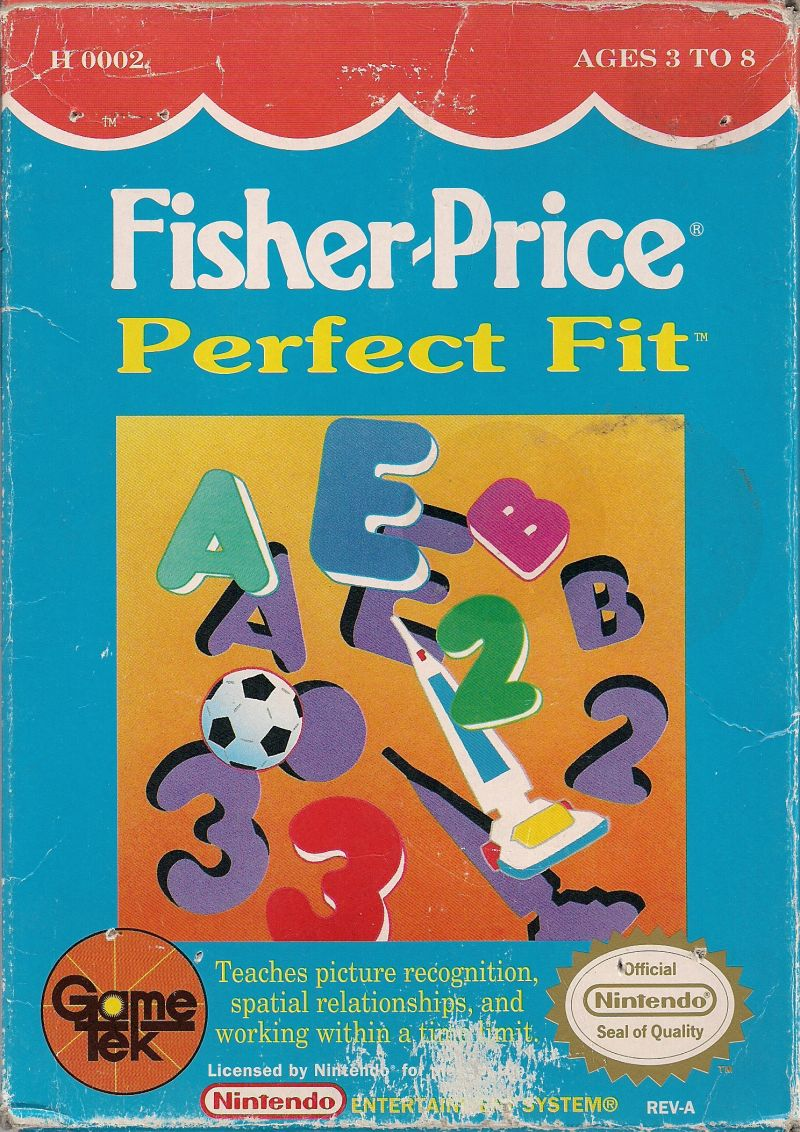 Fisher-Price Perfect Fit NES Front Cover